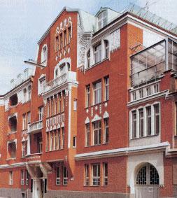 Основное здание фирмы