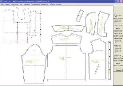 Рис. 5. Легкая мужская куртка