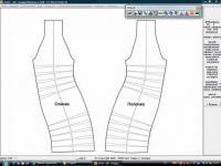 Моделирование спинки и полочки. Илл. 04