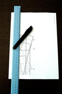 Подрез страницы по контрольным меткам слева