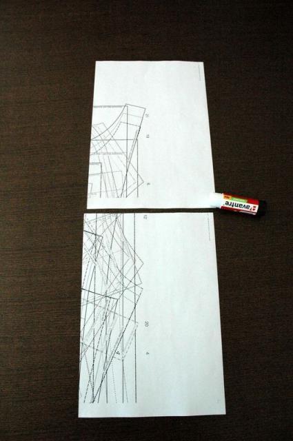 Склеивание страниц между собой в столбцы