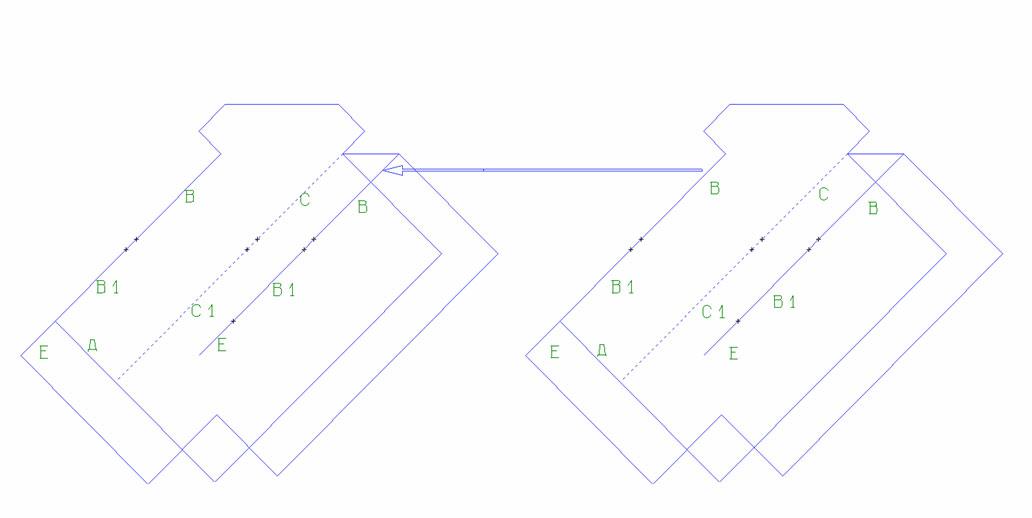 """Этап 3. Сборка платья """"Ателье"""" 04//2010 """"фокусы с простой геометрией"""""""
