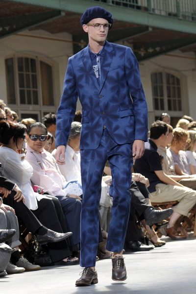 Мужская мода весна-лето 2011 Kenzo и Lanvin  (19728.Kenzo_.02.jpg)
