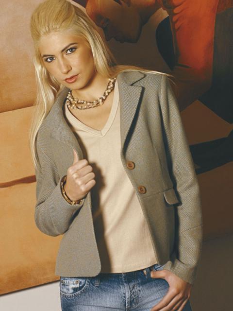 Журнал «Шитье и крой» (ШиК) № 01/2006. Модель 2. Жакет.