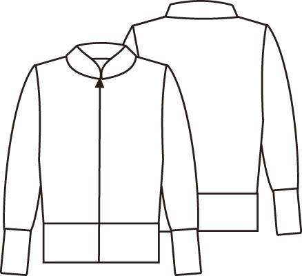 Журнал «Шитье и крой» (ШиК) № 01/2006. Модель 4. Куртка.