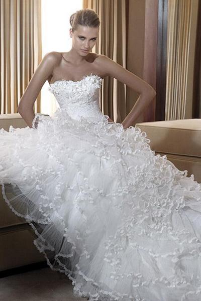 Wedding Saloon :: Свадебные платья выкройки - Свадебные платья и