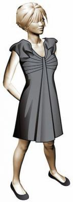 Модель платья 1. Илл. 01