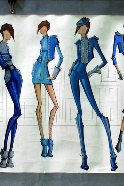 конкурс эскизов одежды: