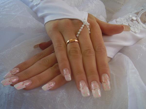 Свадебный дизайн ногтей | modanews.ru