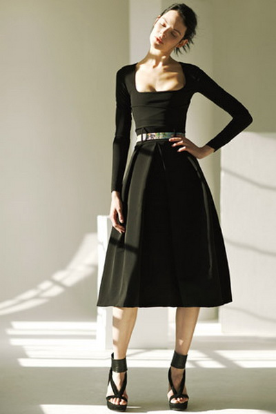 Английская мода весна 2012 27161 burberry prorsum