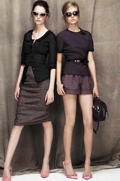 Автор: Editor Весенняя мода Nina Ricci: Resort и коллекция SS 2012 (весна-лето