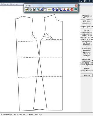 Илл. 02. Базовая конструкция платья
