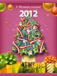 С Новым годом 2012!