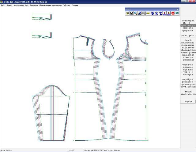 Конструирование базовой выкройки платья (от 10 до 14 лет) - шитье