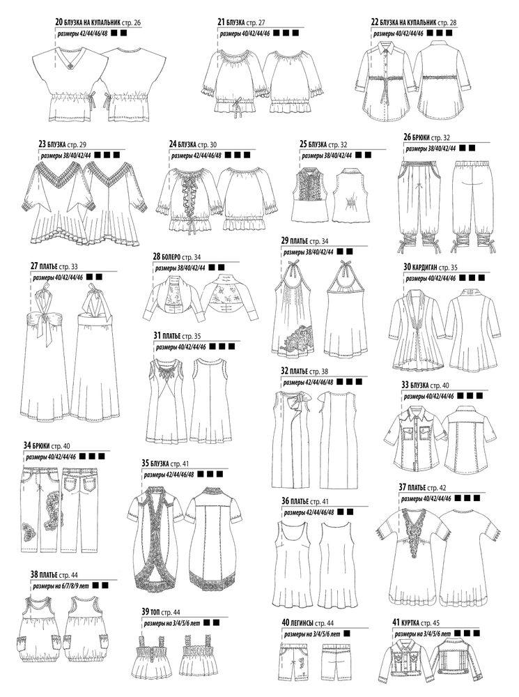 эскизы платьев для шитья