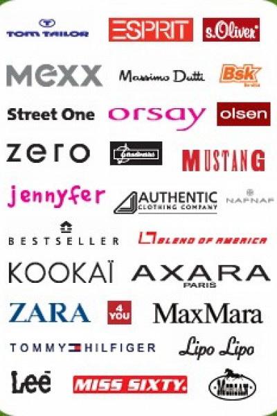Магазин женской одежды список