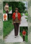 Черкашина Инна, г. Новосибирск: Журнал Diana Moden №08/2009, модели 9, 10 и 4