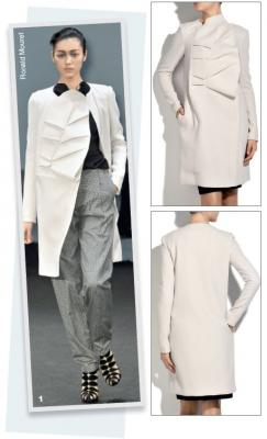 Модель 01. Модель пальто