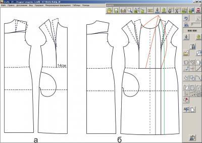 Илл. 03 Моделирование спинки и переда