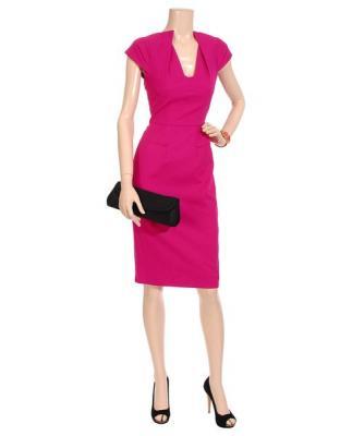 Figura.  01a.  Vestido de primavera de Roland Mouret (Roland Mouret) - Dime el color de Yes!