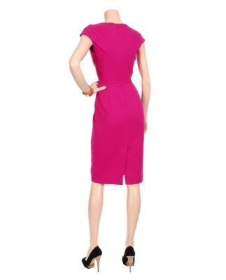 Figura.  01b.  Vestido de primavera de Roland Mouret (Roland Mouret) - Dime el color de Yes!