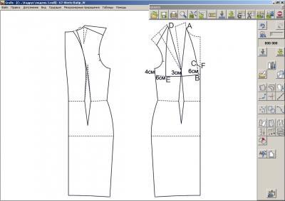 Figura.  02.  Modelado de la parte superior del vestido