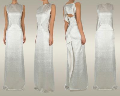 Илл. 01 Платье прилегающего силуэта