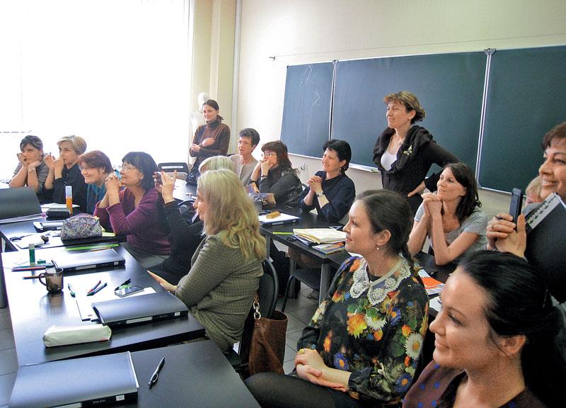 На семинаре Тамоцу Кондо