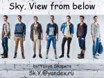 Скопец Юлия – «Небо. Взгляд снизу»