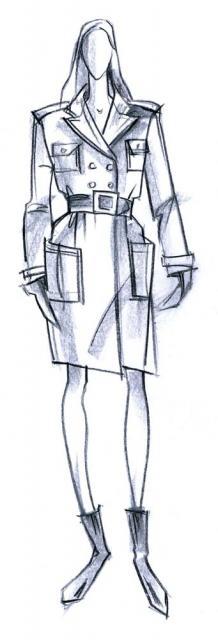 Женское пальто: глянец против ворса. Милитари