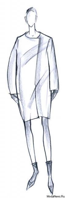 Тенденции. Женское пальто: глянец против ворса. Минимализм