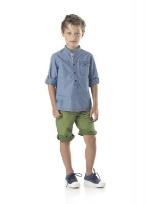 Илл. 01. Комплект Fendi сорочка плюс шорты для мальчика 7-8 лет