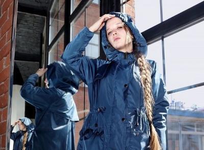 Плащ из ткани компании «ЮНСЕН» – Елена Кылова