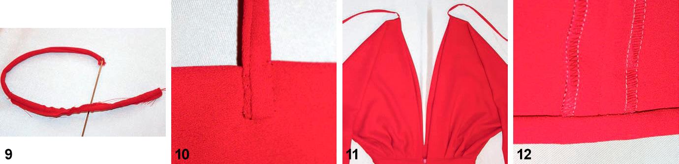 Мастер-класс. Нарядное платье. Выполняем праздничное платье макси с глубоким вырезом горловины (Журнал «Ателье» №01/2017(январь)