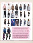 Парад моделей журнала Susanna MODEN KNIP № 12/2017 (декабрь)