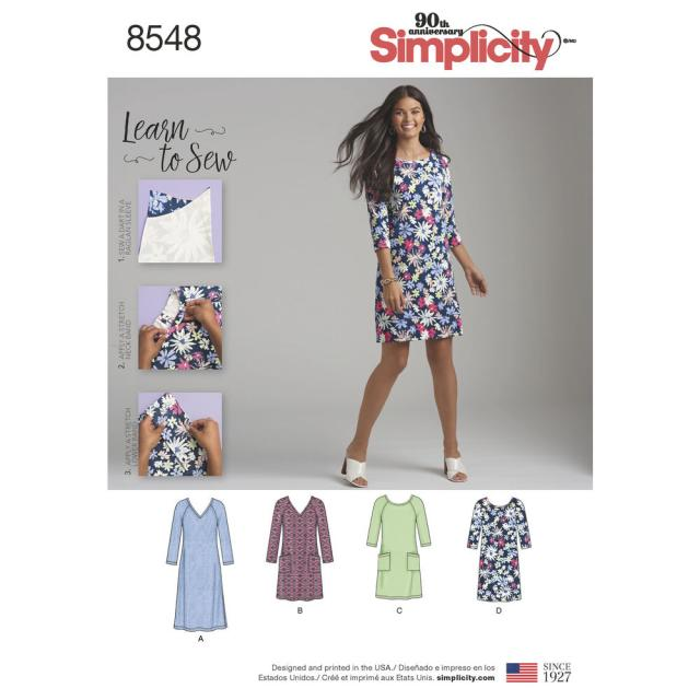 Какие модели из каталога Simplicity вы хотели бы видеть в спецвыпуске «Платья» журнала «ШИК: Шитье и крой» №04/2018(23.04.2018)?