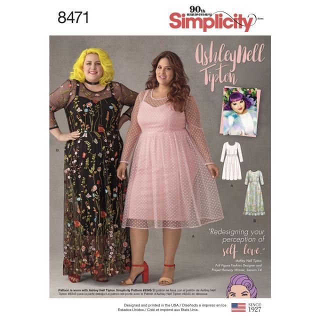 Какие модели из каталога Simplicity вы хотели бы видеть в спецвыпуске «Большие размеры» журнала «ШИК» № 10/2018 (17.09.2018)? (7