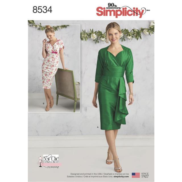 Спецвыпуск журнала «ШиК: Шитье и крой. Simplicity. Платья» № 06/2018 (июнь) анонс с выкройками (79340-Shick-Simplicity-Dresses-2