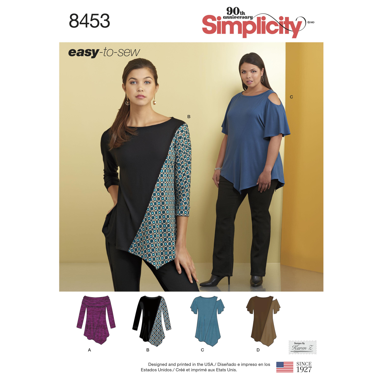 Спецвыпуск журнала «ШиК: Шитье и крой. Simplicity. На крупную фигуру» № 10/2018 (октябрь) анонс с выкройками (80943-Shick-Simpli