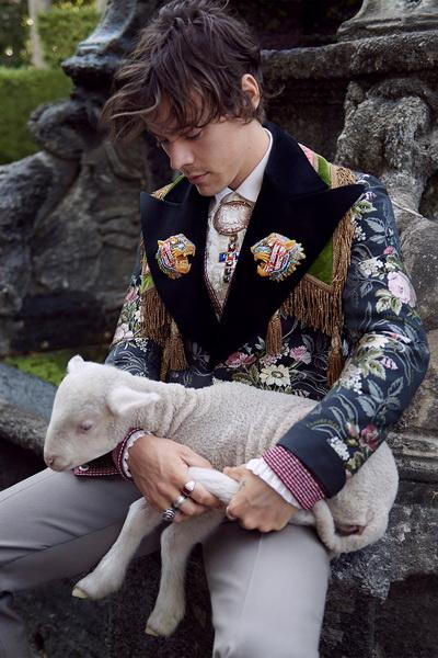 Гарри Стайлз в новой рекламной кампании Gucci (81254-Harry-Styles-V-Reklamnoy-Kampanii-Gucci-2018-04.jpg)