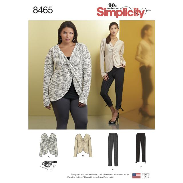 Какие модели из Simplicity вы хотели бы видеть в спецвыпуске «Большие размеры» журнала «ШиК: Шитье и крой» (82292-Schick-Poll-84