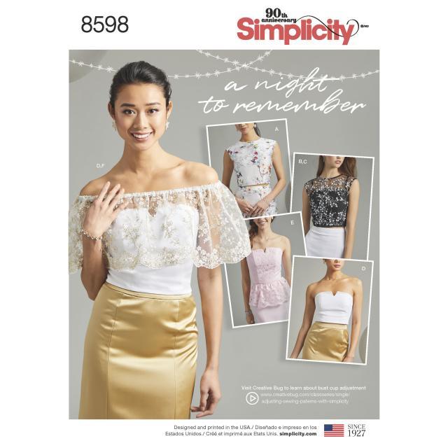 Какие модели из Simplicity вы хотели бы видеть в спецвыпуске «Большие размеры» журнала «ШиК: Шитье и крой» (82292-Schick-Poll-85