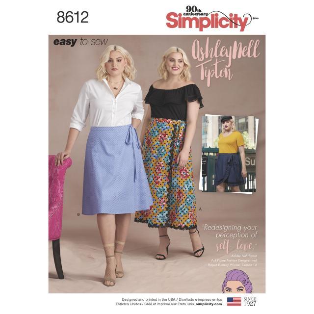 Какие модели из Simplicity вы хотели бы видеть в спецвыпуске «Большие размеры» журнала «ШиК: Шитье и крой» (82292-Schick-Poll-86