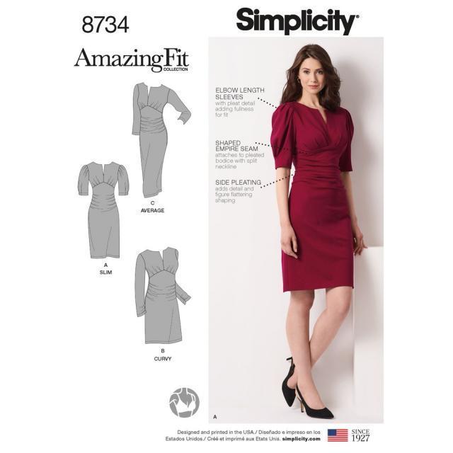 Спецвыпуск журнала «ШиК: Шитье и крой. Simplicity. Большие размеры» № 04/2019 (апрель) анонс с выкройками (83647-Shick-Simplicit