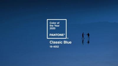 Pantone представляет Цвет года 2020 – PANTONE® 19-4052 Classic Blue