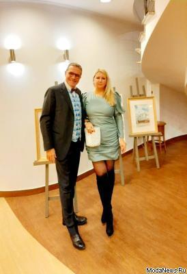 Светлана Аникина посетила Екатеринбург с fashion визитом: Светлана Аникина c Почетным Консулом Италии в Екатеринбурге Роберто Д'Агостино