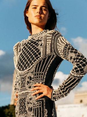 Парижская неделя Haute Couture FW 2020/21: Balmain