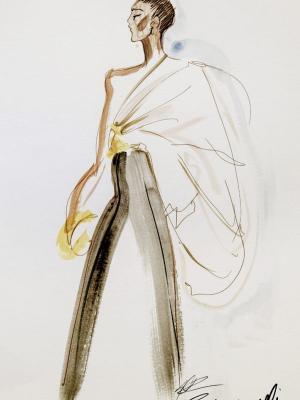 Парижская неделя Haute Couture FW 2020/21: Schiaparelli