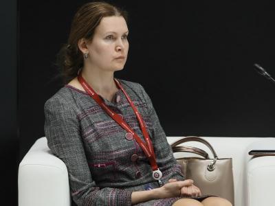 Людмила Дмитриева, заместитель председателя Правительства Ивановской области на ПМЭФ-2021