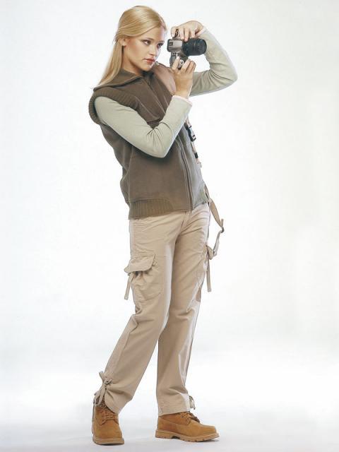 Журнал «Шитье и крой» (ШиК) № 02/2006. Модель 2. Жилет. Модель 3. Брюки.